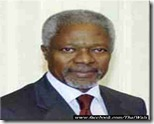 Kofi Annan - Secretary-General -United Nations