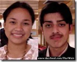 Sheryl Nodalo - 16 years old - Philippines, Saad Jadoon - 17 years old - Pakistan